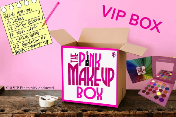 VIP BOXES WITH DAIZYKAT (CLICK FOR ALL OPTIONS) - The Pink Makeup Box