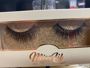 Miss Lil Usa Eyelashes #56 Cream Collection
