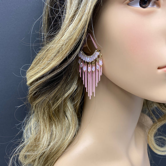 #10 - Pink Earrings - The Pink Makeup Box