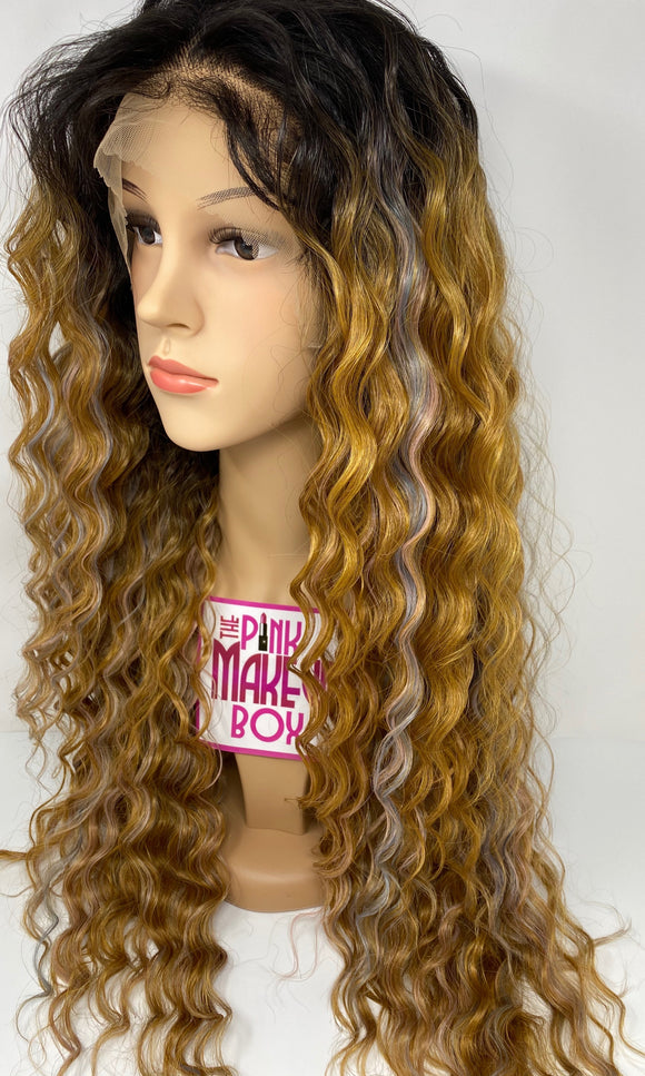 38 - Free Part 13x4 - 360 Lace Front Wig