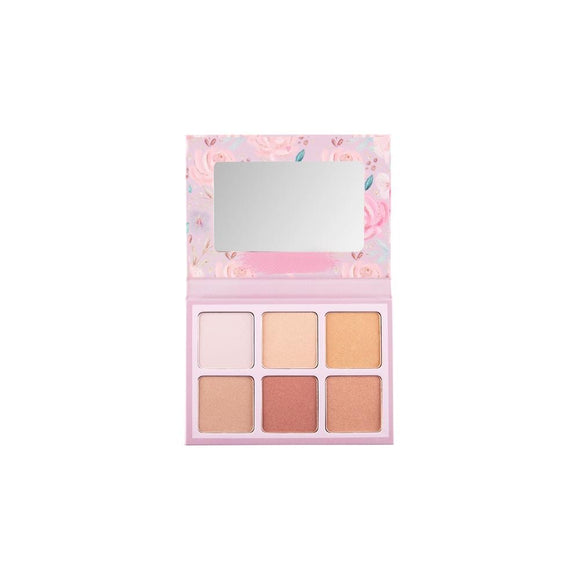 Heavenly Hues Highlight Palette - The Pink Makeup Box