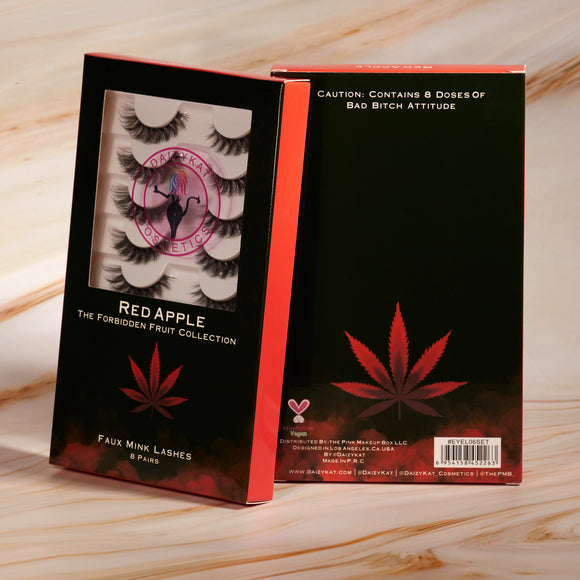 Red Apple 8 Pairs of Lashes