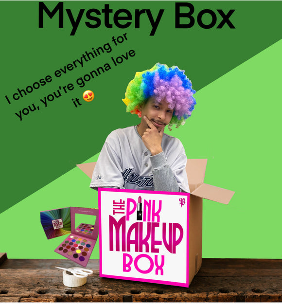 Mystery Boxes with PEACHY (Click for more prices) - The Pink Makeup Box