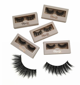 Miss Lil Usa Eyelashes #3 - The Pink Makeup Box