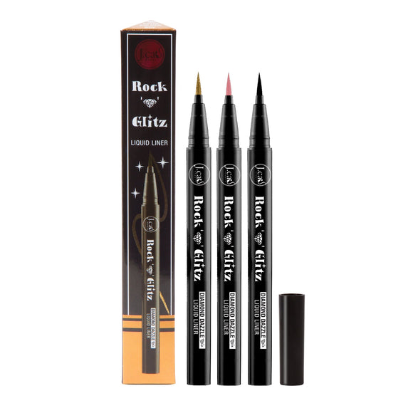 ROCK N' GLITZ DIAMOND DAZZLE LIQUID LINERS