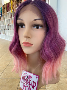 18 - Middle Part Lace Front Wig