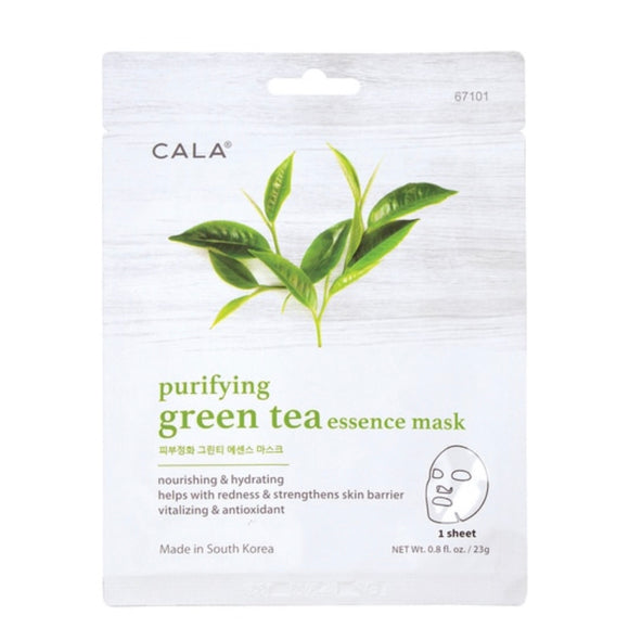 ESSENCE FACIAL MASKS: GREEN TEA (5 PKS)