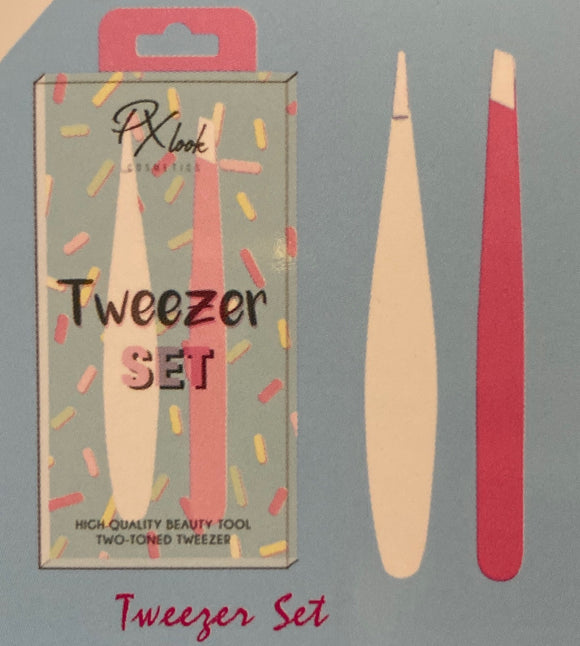 Eyebrow Tweezer Set - The Pink Makeup Box