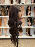 16 - Middle Part Lace Front Wig
