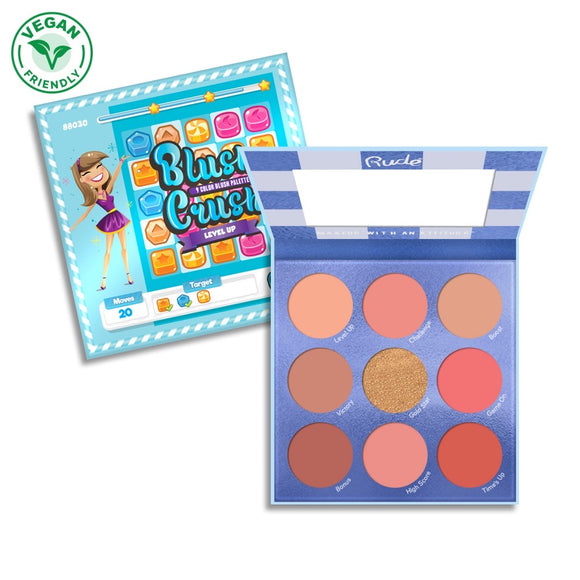 Blush Crush 9 Color Blush Palette - Level Up - The Pink Makeup Box
