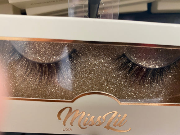 Miss Lil Usa Eyelashes #59 Cream Collection