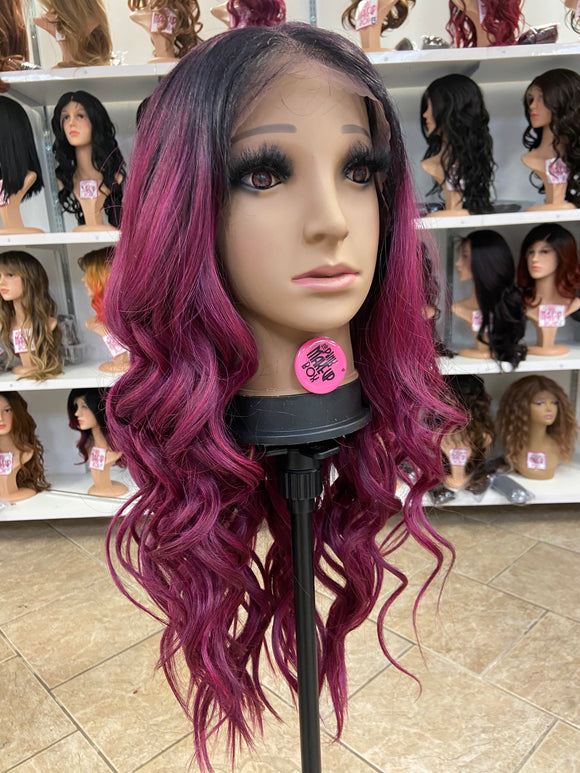 6 - Free Part 13x7 Lace Front Wig