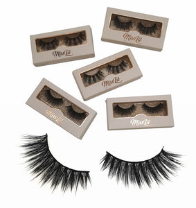 Miss Lil Usa Eyelashes #4 - The Pink Makeup Box