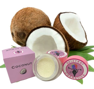 Coconut Lip Scrub - The Pink Makeup Box