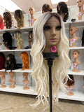 6 - Middle Part Lace Front Wig