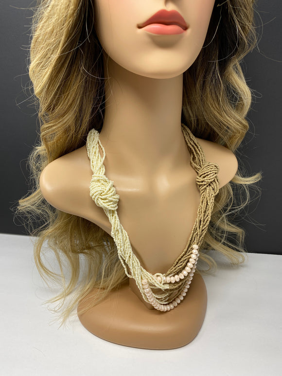#2 - Beige Necklace