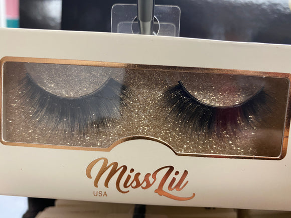 Miss Lil Usa Eyelashes #50 Cream Collection