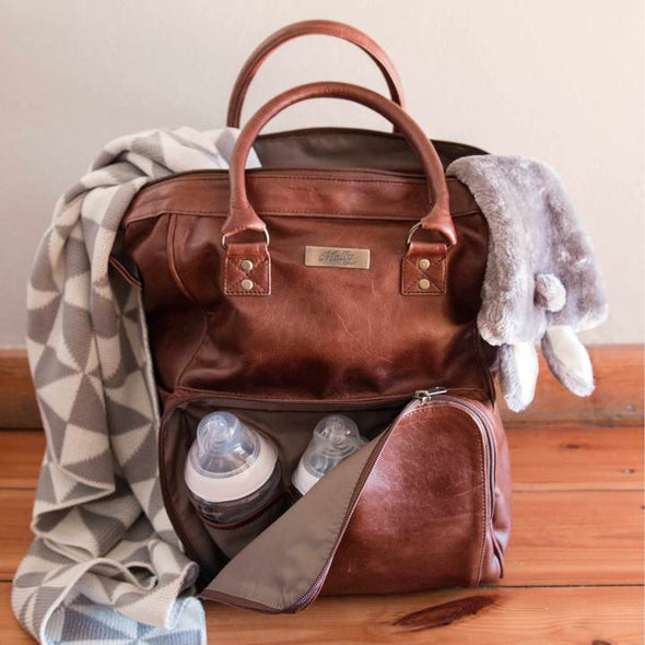 The Bambino Backpack in Toffee
