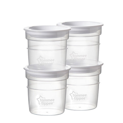 Closer To Nature Milk Storage 4 pack