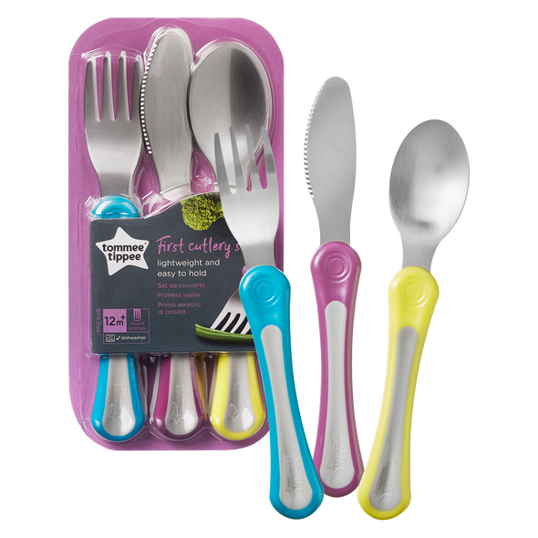 Explora Toddler Cutlery Set 12+ months