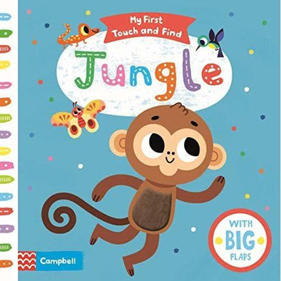 Jungle (My First Touch and Find Book)