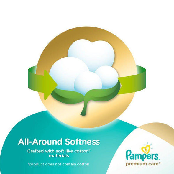 Pampers Premium Care - Size 2 Jumbo Pack - 94 Nappies