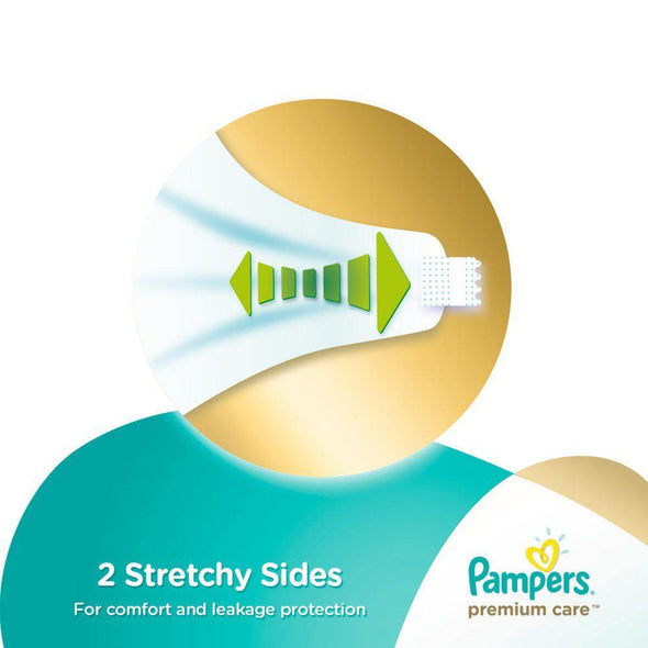 Pampers Premium Care - Size 1 Carry Pack - 22 Nappies