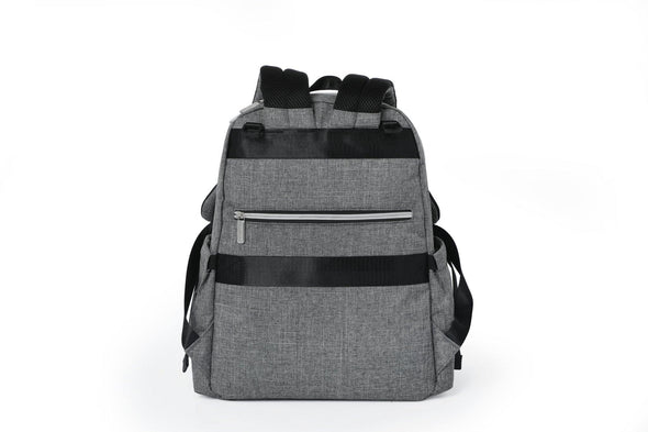 London Backpack Nappy Bag - Grey