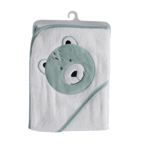 Deluxe Hooded Towel - Bear - Lulla-Buy