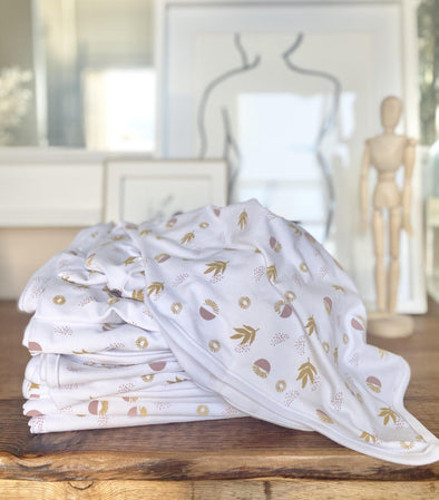 Stretch Cotton Swaddle Blanket – Boho