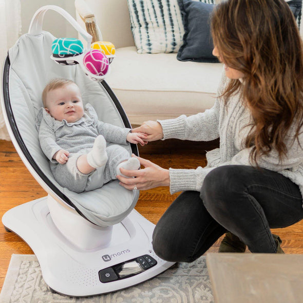 4moms mamaRoo4 Infant Seat - Grey