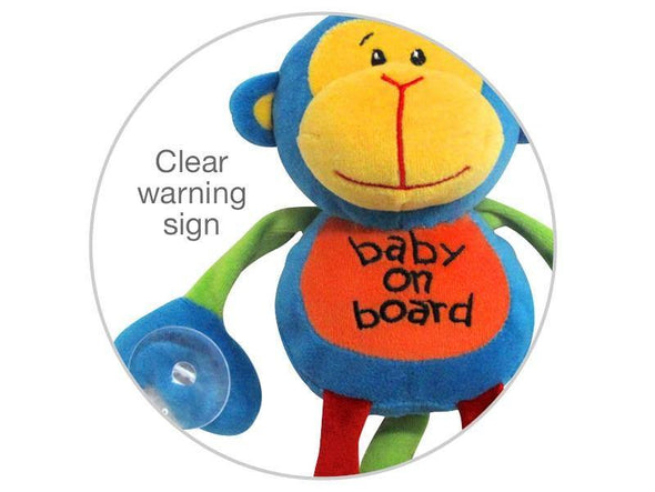 Baby On Board - Monkey