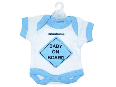 Baby On Board Babygro Car Travel Sign