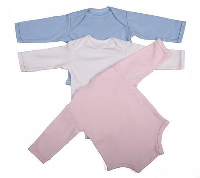 Long-Sleeved Baby Onesie With Envelope Neck - Lulla-Buy