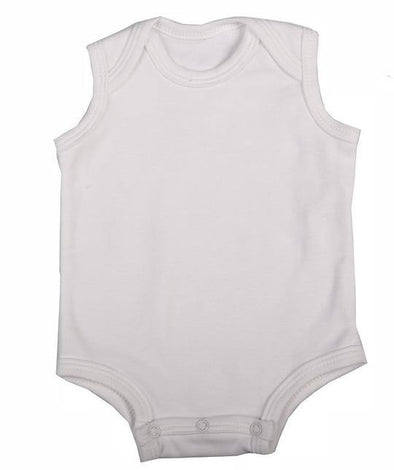 Sleeveless Baby Vest - Lulla-Buy