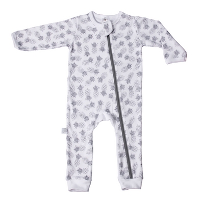 Pineapple Babygrow Grey