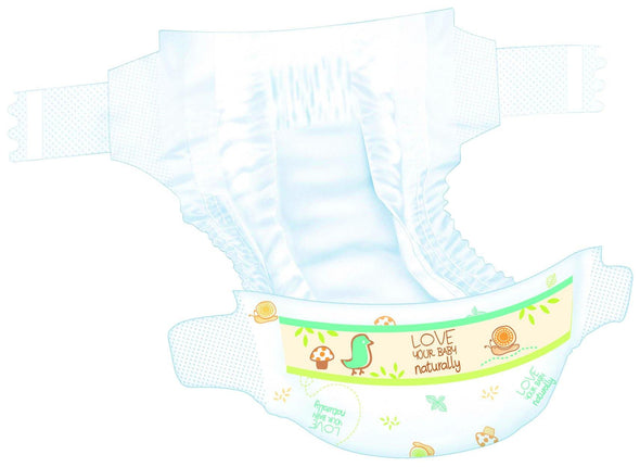 Bio Baby Biodegradable Nappies - Size 3 (7-10 kgs) - 34 Nappies - Lulla-Buy