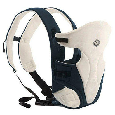 BabyWombWorld Classic Front & Back 3-in-1 Baby Carrier - Cream - Lulla-Buy