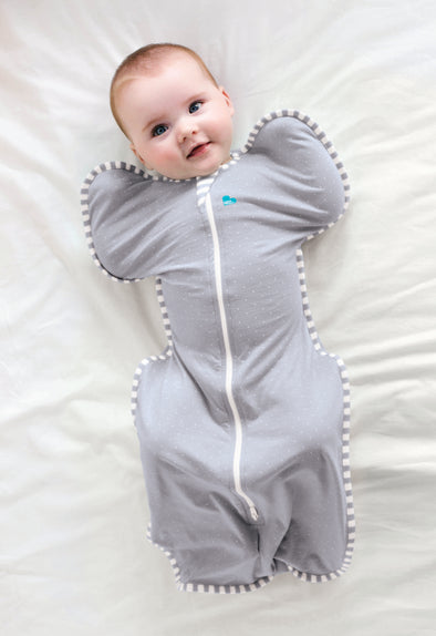 Swaddle UP™ Lite 0.2 TOG Grey Dots