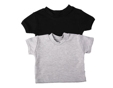 Crew Neck Baby T Shirt Short Sleeve - Lulla-Buy