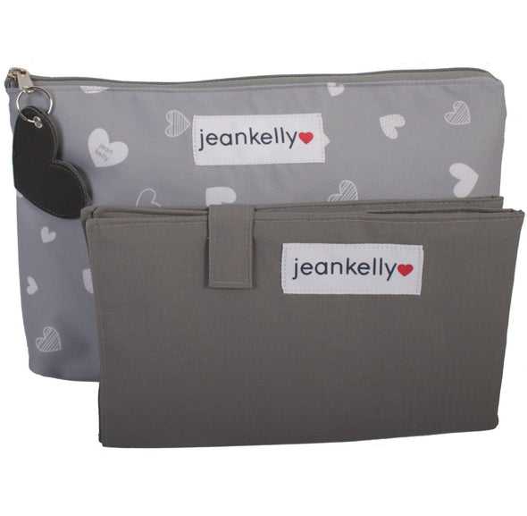Jeankelly Changing Pouch Heart
