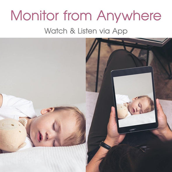 Wi-Fi Video Baby Monitor Nanny Camera with Sound