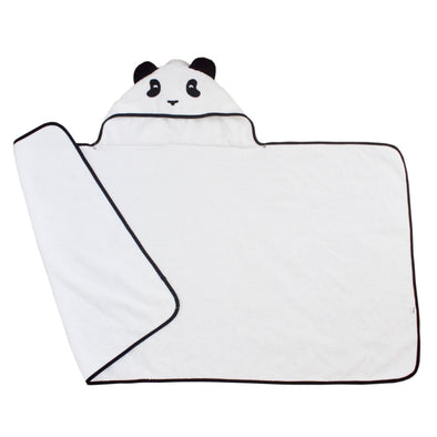 Panda hooded towel - toddler