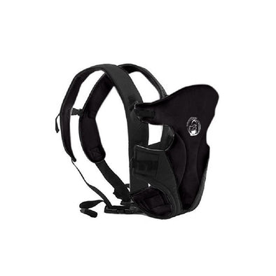 BabyWombWorld Classic Front & Back 3-in-1 Baby Carrier - Black