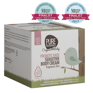 PROBIOTIC BABY Sensitive Body Cream, fragrance free