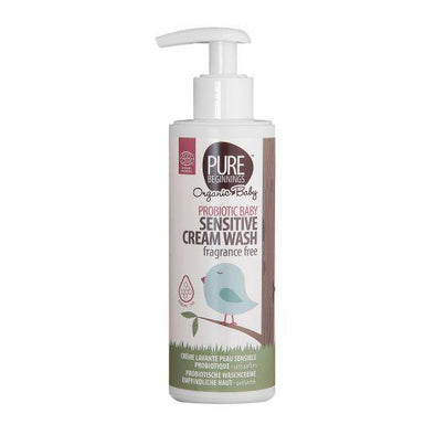 PROBIOTIC BABY Sensitive Cream Wash, fragrance free