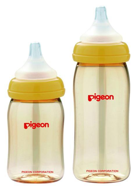 Pigeon SofTouch™ Peristaltic Plus™ Bottle 240ML (PPSU)
