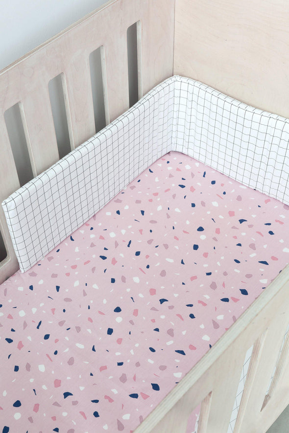 Terrazzo Cot Fitted Sheet