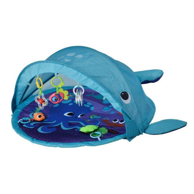 Whale Playmat and Activity Gym