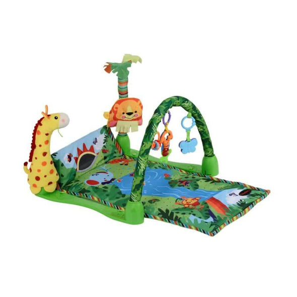 Jungle Safari Arch Playmat and Activity Gym